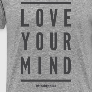 "Mindapples ""Love your mind"" Waren - Männer Premium T-Shirt"