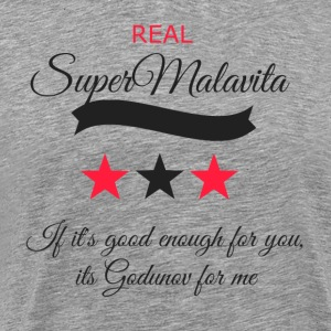 Super mala vita transparent - Men's Premium T-Shirt