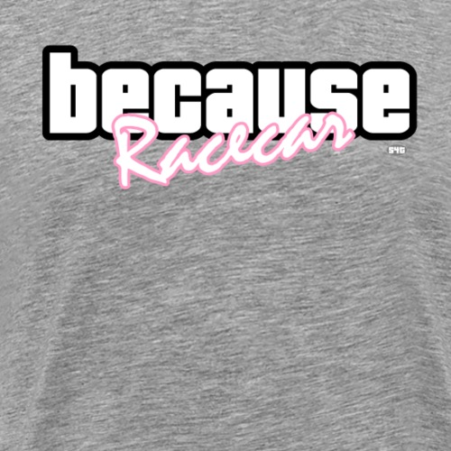Because Racecar - Der Inbegriff der Autoszene - Männer Premium T-Shirt