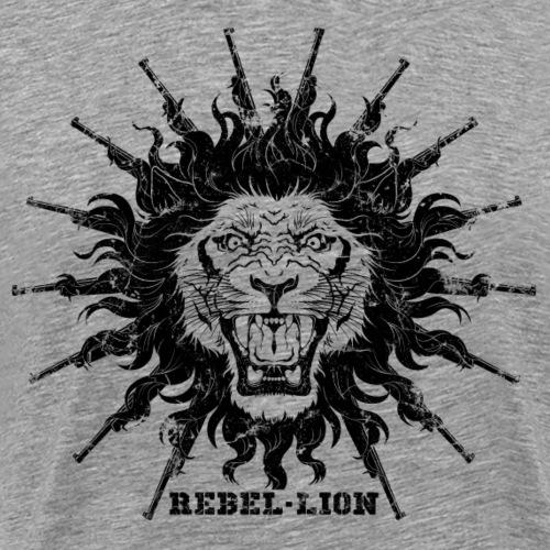 Rebellion The mane gun fire - Grunge - T-shirt Premium Homme