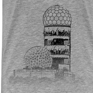 Around The World: Teufelsberg - Berlin - Premium-T-shirt herr