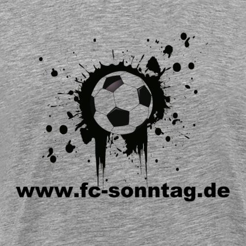 FC Sonntag Ball - Männer Premium T-Shirt