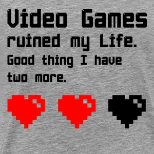video Games - Mannen Premium T-shirt