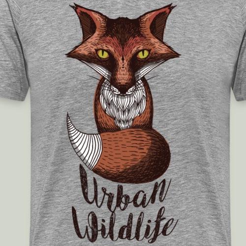 urban wildlife rot - Männer Premium T-Shirt