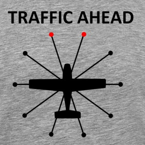 Traffic Ahead - Collision - Men's Premium T-Shirt