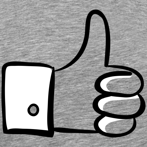 Thumbs up! - Mannen Premium T-shirt