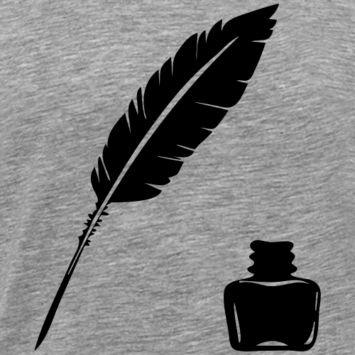 Storywriter - Männer Premium T-Shirt