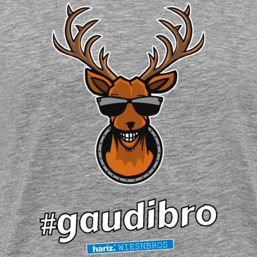 Gaudibro HARIZ PIXBROS WIESNBROS Oktoberfest Wiesn - Männer Premium T-Shirt