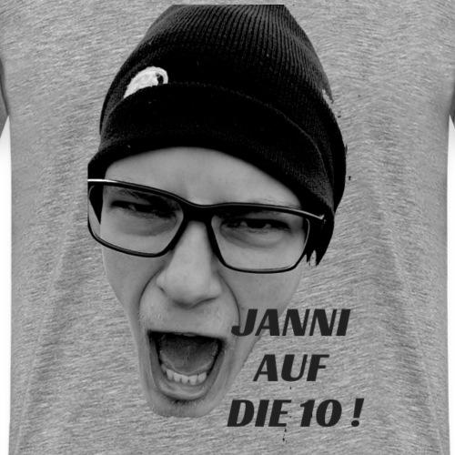 JANNI AUF DIE 10 - Männer Premium T-Shirt