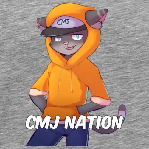 CMJ Nation Grey Collection - Men's Premium T-Shirt
