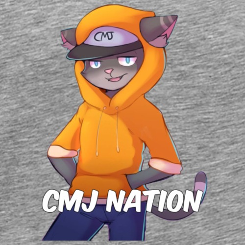 CMJ Nation Grey Collection - Men's Premium T-Shirt