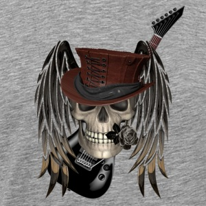 metall patch - Premium-T-shirt herr