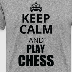 keep calm chess - Männer Premium T-Shirt
