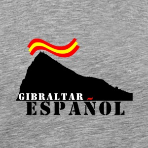 GIBRALTAR Spanish gray - Men's Premium T-Shirt