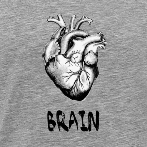 Brain - Männer Premium T-Shirt