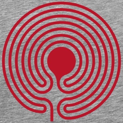 labyrinth 03 - Männer Premium T-Shirt