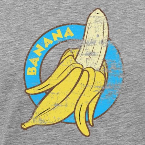 Banana Vintage T-Shirt Grunge style - Mannen Premium T-shirt
