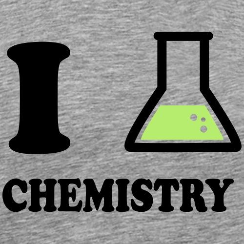 I_love_chemistry - Männer Premium T-Shirt