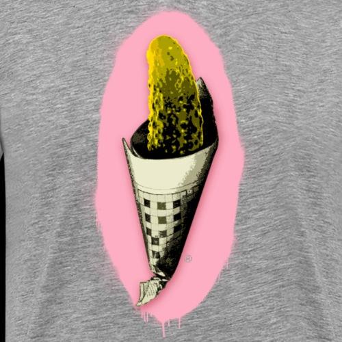 """Spreewald ICE TUTE"" - Street Art from Ostap - Men's Premium T-Shirt"