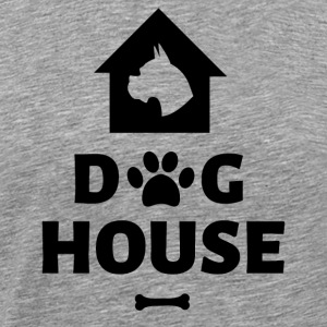 Dog House - Mannen Premium T-shirt