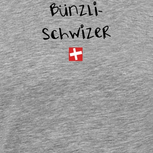 NEU! Schweizer Sprüche | Geschenk | Bünzli Schweiz - Männer Premium T-Shirt