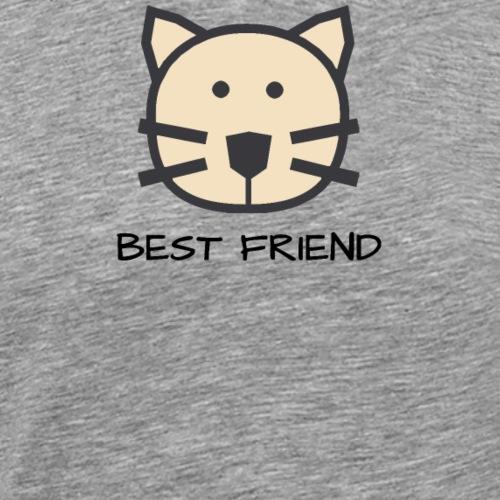 Katzenfreund - Best Friends - Männer Premium T-Shirt