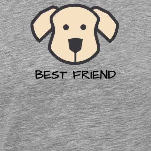 Hundefreund - Best Friends - Männer Premium T-Shirt