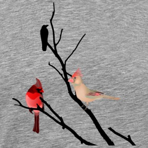 bird branch - Men's Premium T-Shirt