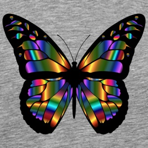 Butterfly - Abstract - Mannen Premium T-shirt