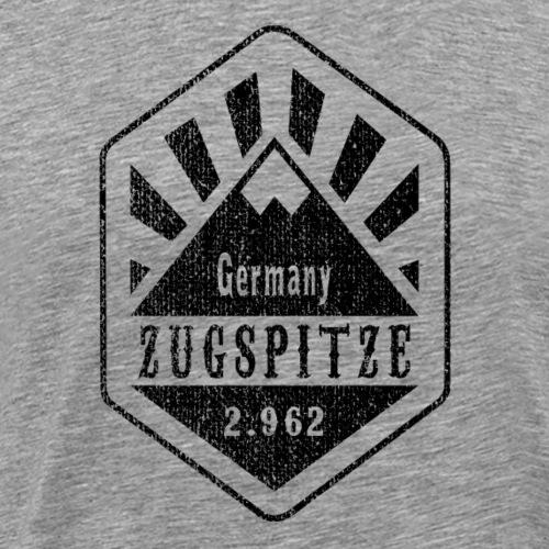 Zugspitze Germany - Used Look - Männer Premium T-Shirt