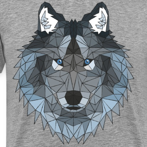 Poly Wolf - Men's Premium T-Shirt