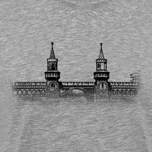Around The World: Oberbaumbrücke - Berlin - Männer Premium T-Shirt