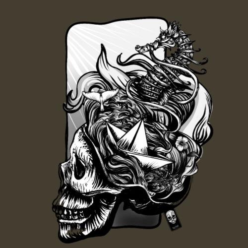 Ocean Brain - Camiseta premium hombre