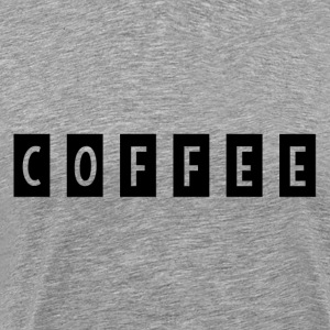 COFFEE1 - Men's Premium T-Shirt