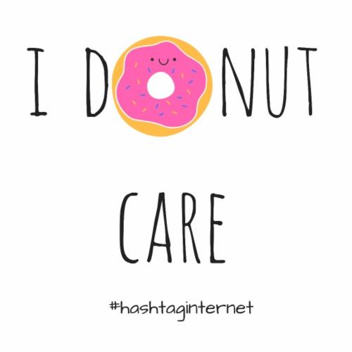 i donut care - i don't care - Männer Premium T-Shirt