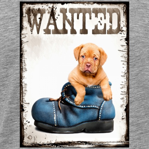 wanted puppy - T-shirt Premium Homme
