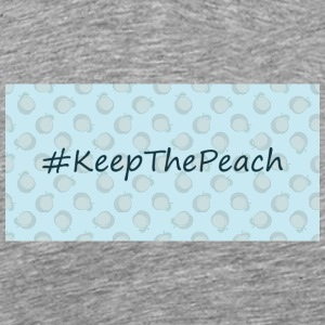 Hashtag Keep The Peach - Maglietta Premium da uomo