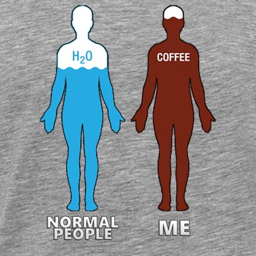 NORMAL PEOPLE AND ME - Camiseta premium hombre