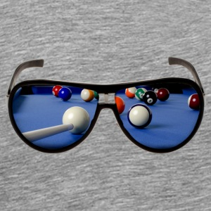 Cool Pool Shades - Männer Premium T-Shirt