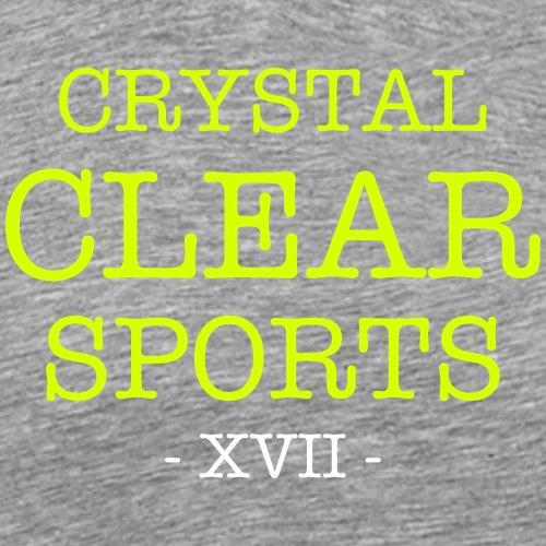 Crystal Clear Sports - Skriptum - Männer Premium T-Shirt
