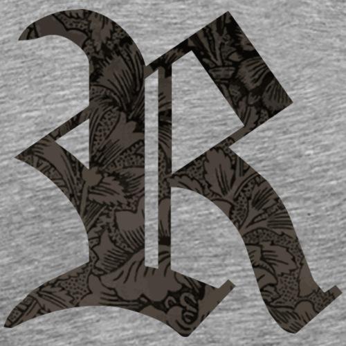 R gothique - T-shirt Premium Homme