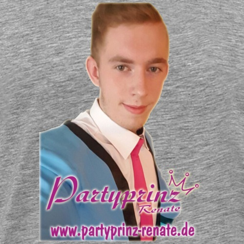 Der Partyprinz himself - Männer Premium T-Shirt