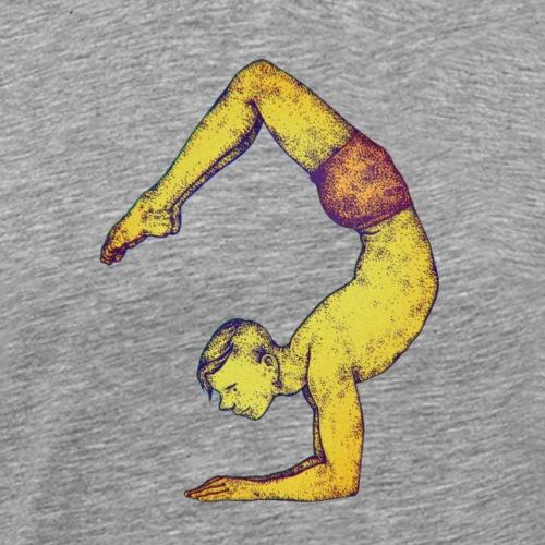 Scorpion de yoga - T-shirt Premium Homme