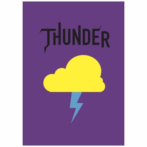 Thunder Noir - T-shirt Premium Homme
