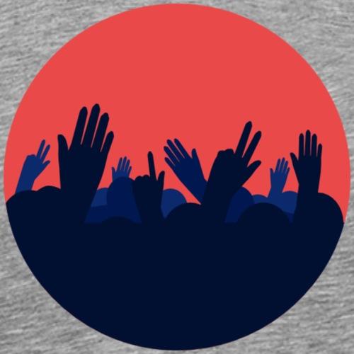 Festival-Hände - Party - Feiern - Männer Premium T-Shirt