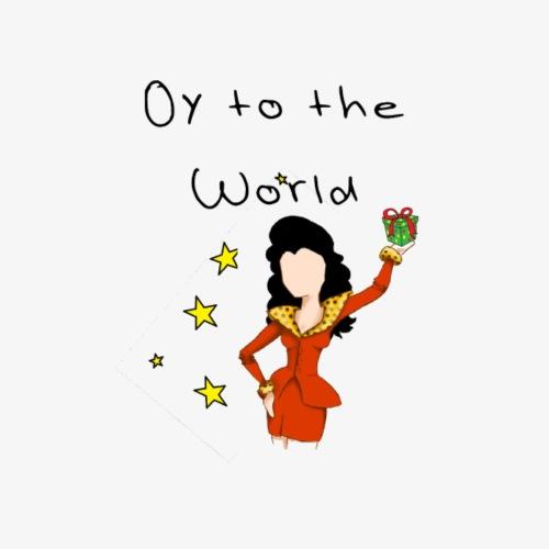 Oy to the World Bild - Männer Premium T-Shirt