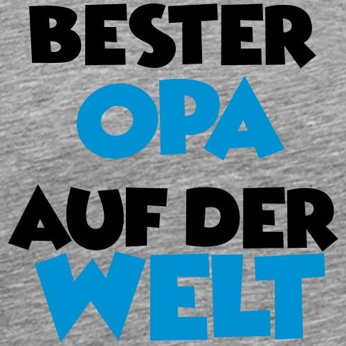 Bester Opa auf der Welt - Männer Premium T-Shirt