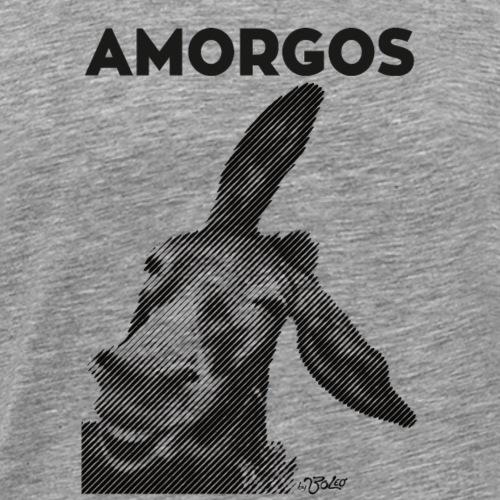 Boleo Amorgos Esel Donkey - Männer Premium T-Shirt