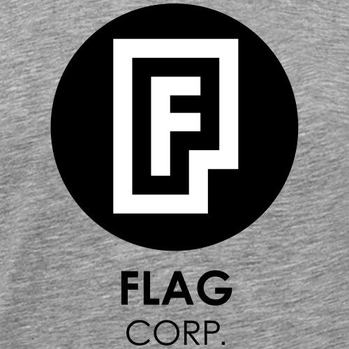 FLAG CORP - Maglietta Premium da uomo