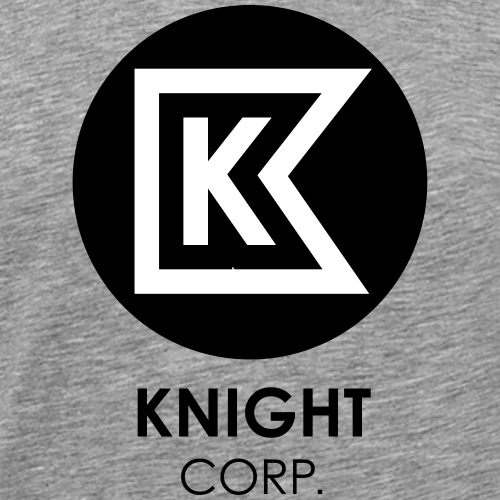 KNIGHT CORP - Maglietta Premium da uomo